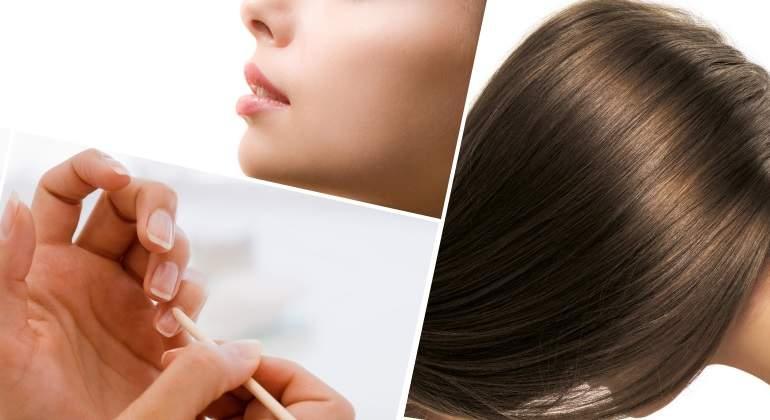 cabello uñas y piel