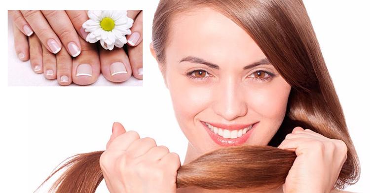 cuidade de uñas cabello y piel